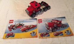 3 in 1 lego set. Part of enormous lego collection. Will be posting lots of ads over time as selling everything and open to offers on multiple purchases.
