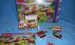 Lego Friends Adventure Camper, fully assembled with box and instructions