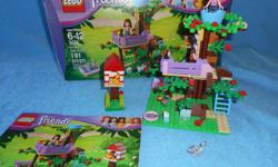 Lego Friends Olivas Tree House, fully assembled with box and instructions