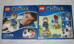 This is a BRANDNEW Lego Legends of Chima 'Laval' Torch and Night Light - BRANDNEW and still in SEALED BOX - 100% Official Lego Merchandise - Posable Laval the Lion minifigure torch! - Features a 30 minute auto shut off night light function - The figure