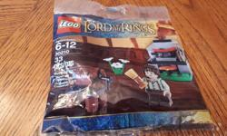 Lord of the Rings Brand New Unopened Lego 33 Pieces Frodo in the cooking corner