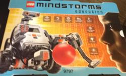 REDUCED!!! Complete, like new Mindstorm set. $500 OR BEST OFFER This set enables students to build and program real-life robotic solutions. Includes the programmable NXT Brick, providing on-brick programming and data logging, three interactive servo