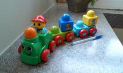 This play train is suitable for baby or toddler. It is in excellent condition.