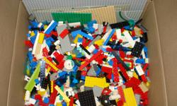 """I have several boxes of lego packs that I've put together. Each box consists of 20lbs of lego, 20 mini-figures, one large 16""""x16"""" grey board, six road boards and a couple of smaller boards!!! All this for $199! A great Christmas gift!"""