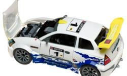 This lego set is a european rally car. Its set number 9737. Comes with 200 pieces, of which all are there. I do not have the instructions but they are readily accessible on the internet.