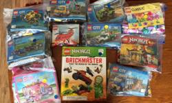 A great assortment of Lego sets. All sets priced from $5-$20. Not all are complete, but the missing pieces are marked. See photo.