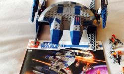 Lego hyena droid bomber. All mini figures and manual are included. From a pet free and smoke free home.
