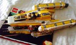 Anakins Y wing star fighter. All mini figures included. From a smoke free and pet free home.