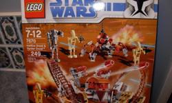 Lego Star Wars Set #7670 Hailfire Droid & Spider Droid 249 Pieces Brand New & Sealed