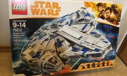 This is a genuine LEGO Star Wars set #75212 called the Millennium Falcon Kessell Run. This LEGO set is brand new, complete and sealed. Has over 1410 LEGO pieces including 6 mini figures. In perfect condition and sealed. Ideal gift. From a non pet and non