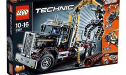 It's a brand new Lego logging truck