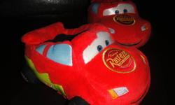 Brand New Lightning McQueen SlippersNever worn .... except on his hands a few times! :)Size 7/8 TAsking 5.00Thanks
