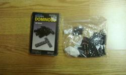 I have a Like New Domino Set for sale! This is in excellent condition and would look great in your child's room or to give as a gift. Comes from a non-smoking household. Do not miss out on this excellent opportunity to get this for a fraction of the cost!