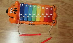 I have a Like New Little Tykes Xylophone for sale! This is in excellent condition and would look great in your child's room or to give as a gift. Comes from a non-smoking household. Do not miss out on this excellent opportunity to get this for a fraction