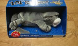 I have a Like New LOL Rollovers Cat Toy for sale! This is in excellent condition and would look great in your child's room or to give as a gift. Retails for $30 in stores so this is a great deal. · The laugh out loud rolling, laughing pet · Get them