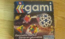 I have a Like New Orgami Toy Puzzle Set for sale! This is in excellent condition and would look great in your child's room or to give as a gift. Comes from a non-smoking household. Do not miss out on this excellent opportunity to get this for a fraction