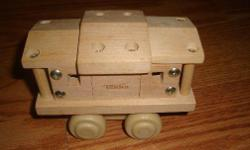 I have a Like New Solid Wood Tonka Toy Train for sale! This is in excellent condition and would look great in your child's room or to give as a gift. Comes from a non-smoking household. Do not miss out on this excellent opportunity to get this for a