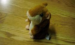 I have a Like New Talking Hamster Toy for sale! This is in excellent condition and would look great in your child's room or to give as a gift. It has a recording machine in it and repeats what you say. Great toy for kids and adults. This retails for $20
