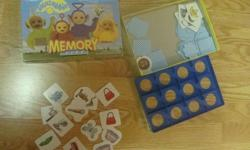 I have a Like New Teletubbies Memory Game for sale! This is in excellent condition and would look great in your child's room or to give as a gift. Comes from a non-smoking household. Do not miss out on this excellent opportunity to get this for a fraction