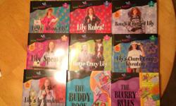 "16 volumes of ""Lily Series' by Nancy Rue suitable for ages 8-12 new condition call / text 204.998.4654"