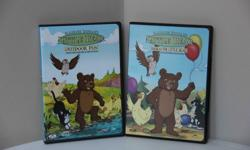 Set of 2 * Hooray for Little Bear * Outdoor Fun Excellent condition - never handled by children.