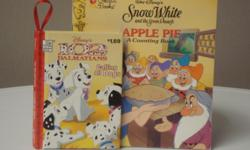 Titles * Snow White and the Seven Dwarfs - Apple Pie Counting Book * 102 Dalmations Like new.