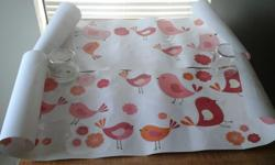 Birds and flowers wall decals Used once and then we moved. They have lots of life left in them! Easy to apply and remove Do not mark up walls Would like to sell asap. Money going towards emergency surgery for my cat : ROWANS SURGERY FUNDRAISER