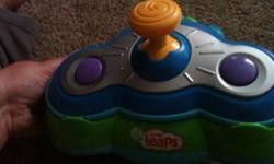 Little leaps game system from leap frog in great condition hardly been used as my kids were never interested in playing in front of the tv. Comes with 4 games great for babies 6 months and older to play This ad was posted with the Kijiji Classifieds app.