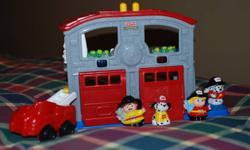 fire station 10 mechanic bay 5 Concrete truck 3