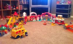 Little people carnival, castle, barn, house, airport, and bus. $50.00. This ad was posted with the Kijiji Classifieds app.