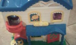 Little People Farm, House, Pirate Ship Farm - $25 House - $25 Pirate Ship $20