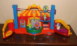 Take all six sets for $75 or individually for prices listed below.  All sets in great condition and have all people/animals with them.   Little People Circus - $10 Little People Ark - $15 Little People Carnival - $15 Little People Pet Shop - $10 Little