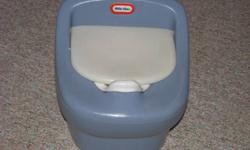 Two potties.  Five dollars each.  From smoke free, pet free home.  In very good condition.