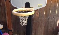 Little Tikes Basketball Hoop Can be raised or lowered to different heights