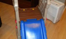 This has never been used outdoors so it is in mint condition & would make a great christmas present or great for a home daycare. This comes from a smoke free & pet free home.