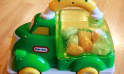 - Popping, recycling truck for toddlers - Perfect condition