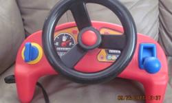 Little tikes car game that attaches to TV $5.00
