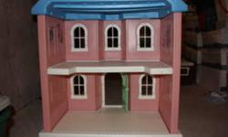 Little Tykes   Pink Plastic Play House   Approx 4 ft high, 2 levels inside   Loads of fun!!
