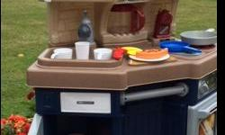 Little Tykes Kitchen in like new condition with all of the play items included.