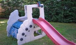 Little Tykes Mountain Climber with slide. Made in US Good condition   Paid $350.00 Asking $175.00