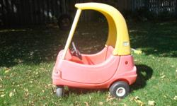 Great little car, still works great but has lost its gas cap and is a little faded from being outside. To buy new would cost $70.00 , selling for $25.00 OBO. wii be in Guelph 2-4pm October 15th.