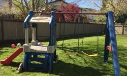 Swing set in great condition. asking $225. Must pick up.