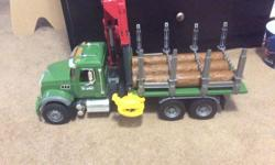 Logging truck in good condition
