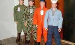 I am a local Winnipeg GI Joe action figure collector and I am currently looking to purchase used 1960's GI Joe 12-inch figures, clothing and/or equipment items for my collection.   There are many items that I am looking for but I will also buy entire