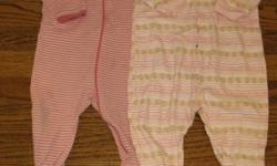 Lot of 6 baby girl sleepers, all 12 to 24 months. All clothing is clean, in excellent condition and comes from a non-smoking home. See my other lots also on kijiji. Phone 453-4229.