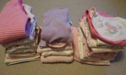 I have a box full of adorable 0-3 month baby girl clothing. $20 OBO takes the box.