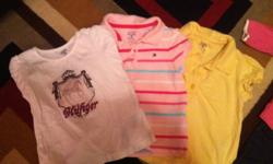 Lot of 12-18 month girls clothing 9 outfits 3 t-shirts and 3 hoodies. All name brand mostly Tommy, a Mexx t-shirt, an Old Navy jogging suit and hoodie and the monkey jeans are Children's Place asking $75 obo This ad was posted with the Kijiji Classifieds