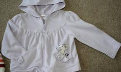 Included in this lot of Girls 3T clothing is   Three Gymboree sweaters One Gymboree t-shirt One pair of overalls   Also comes with matching Gymboree hair clips for the purple mouse hoodie and blue apple hoodie   Also includes Gymboree snowflake clips and