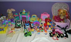 For sale a Lot of Mix Toys for Boys and Girls Please see all the pictures, Price asking for all is Firm at $ 40