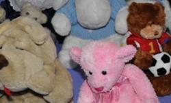 LIKE NEW LOT OF STUFFED  ANIMALS- PENGUIN  - DISNEY EOR ALL FOR $15